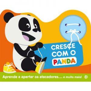 Cresce com o Panda – Livro com Atacadores