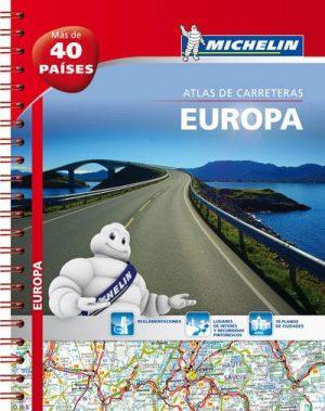 Europa Atlas Rodoviário Michelin (A4)