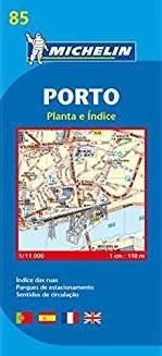 Mapa Michelin 85 – Cidade do Porto