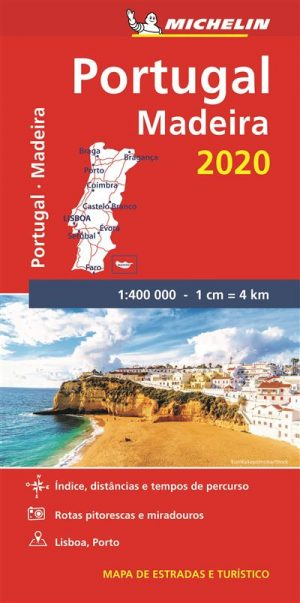 Mapa Michelin Portugal Madeira 2020