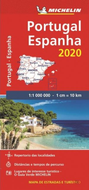 Mapa Michelin Portugal Espanha 2020