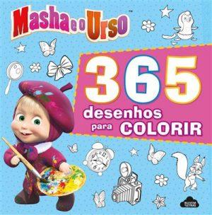Masha e o Urso – 365 Desenhos Para Colorir
